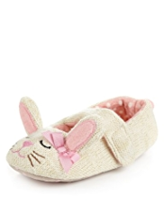 Bunny Knitted Slippers