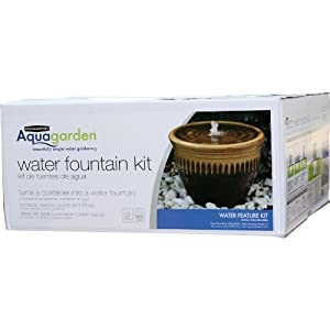 Pennington Aqua Garden Water Fountain Container Kit Pond Water Pumps Patio