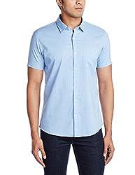 Ruggers Men's Casual Shirt (8907242814445_267758224_Medium_Light Blue)