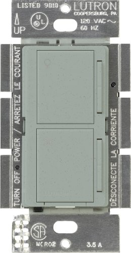 Lutron Ma-Alfq35-Bg Maestro Companion Fan And Light Control, Bluestone