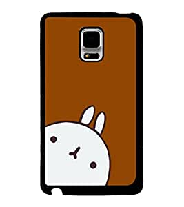 Fuson 2D Printed Cartoon Designer back case cover for Samsung Galaxy Note Edge - D4302
