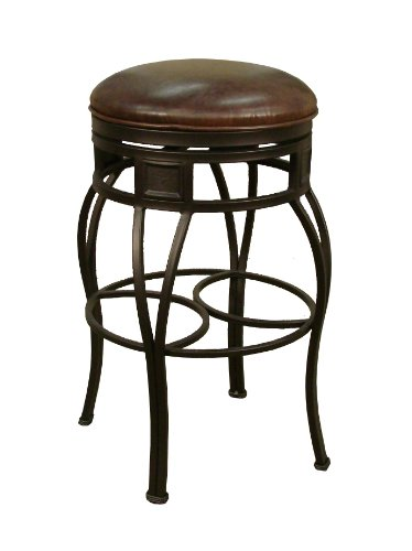 "American Heritage Capri Bourbon 34"" High Tall Bar Stool"