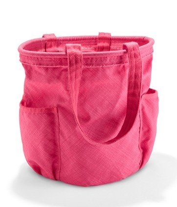 Defective Thirty One Bag Retro Metro Bag In Coral Cross Pop Rv$55