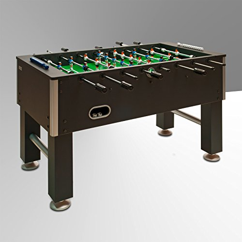 Tischfussball Kicker International, schwarz, 70230