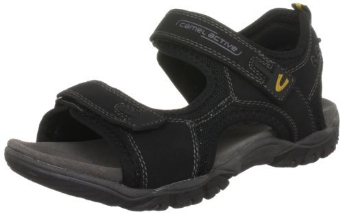Camel Active Pacific Men's Black Sandal 319.11.02 11 UK
