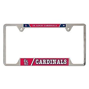 St Louis Cardinals - Logo Metal License Plate Frame