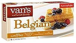 Van\'s Homestyle Belgian Waffles, 7.5 Ounce (Pack of 12)