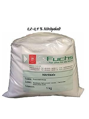 Nitritsalz / Pökelsalz 1 kg Beutel 0,8-0,9 % Nitritgehalt von Fuchs - Gewürze Shop