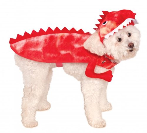 Rubies Costume Company Raptor Dinosaur Pet Costume, Small