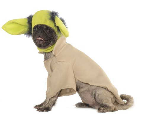 Rubies Costume Star Wars Collection Pet Costume, X-Large, Yoda - 1