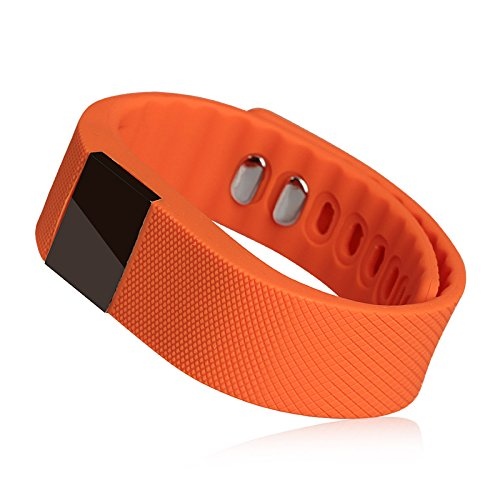 LEMFO® TW64 Bluetooth Smartband Smart Watch Wrist Band Smartwatch Pedometer Anti-lost for Samsung Huawei Android Smartphones (Orange) sale 2016