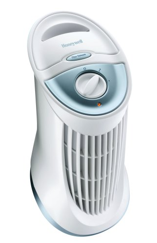 Honeywell HFD-010 QuietClean Compact Tower Air Purifier with Permanent Filter