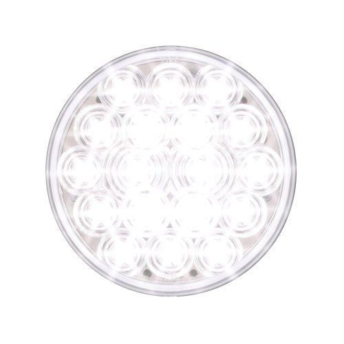 "Grand General 76454 White 4"" Round Fleet 18-Led Back-Up Light"