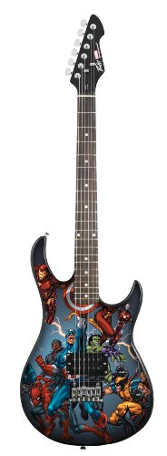 Peavey Electronics Marvel 03017660 Hollow-Body Electric Guitar