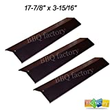 bbq factory 97741(3-pack) BBQ Gas Grill Heat Plate Porcelain Steel Heat Shield for MCM, Charmglow, BBQ Pro, Lowes Model Grills