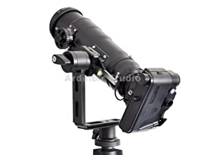 360 Full Spherical Rotator Panoramic QTVR Tripod Pano Rotation Panning Head for DSLR Camera Camcorder