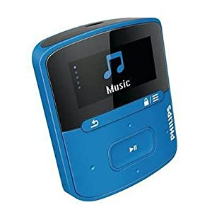 Philips GoGEAR Raga 4GB MP3 Player with FullSound (Blue)