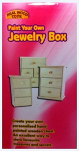 Paint Your Own Jewlery Box