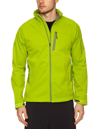 Salomon Quest Smartskin Windstopper Men's Jacket - Kiwi Green/Dark, Small