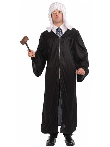 Judge Robe Costume for Adults