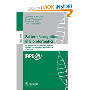 Pattern Recognition in Bioinformatics: 5th IAPR International Conference, PRIB 2010, Nijmegen, The Netherlands, September 22-24, 2010 ...