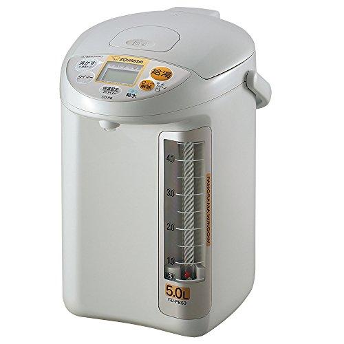象印 電動給湯ポット 5.0L グレー CD-PB50-HA
