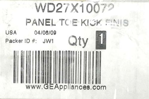 GE WD27X10072 Dishwasher Toe Kick Panel Assembly (Dishwasher Toe Panel compare prices)