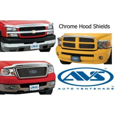 Auto Ventshade 680906 Chrome Hood Shield
