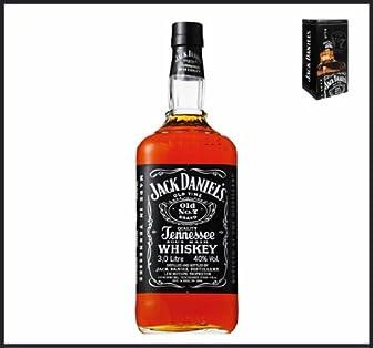 ジャックダニエル ブラック 40度 3000ml カートン入り 【正規品】【テネシーウイスキー】