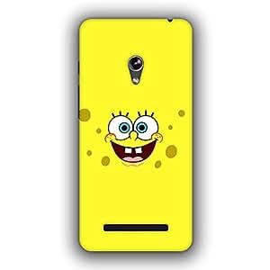 Caseque (Pro) SpongeBob Back Cover For Asus Zenfone 5
