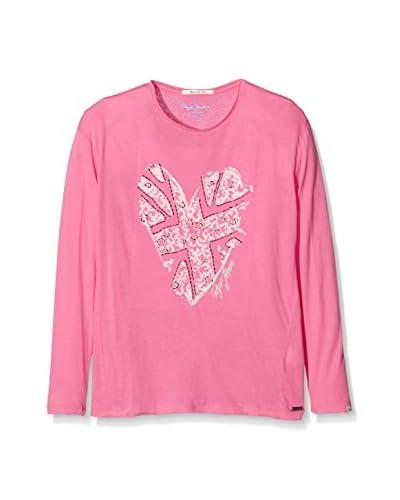 Pepe Jeans London Camiseta Manga Larga Carmina Rosa Claro