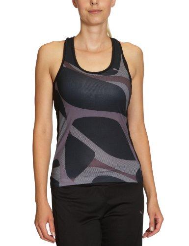 Puma 508669 03 Essential Graphic Débardeur de sport femme Noir Taille XS a89d9a67b8f