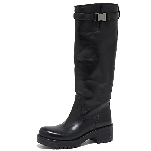 6705N stivale donna PRADA SPORT nero shoes woman boots [36.5]