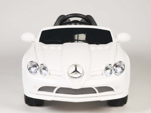 4Ch Remote Controlled Electric Licensed Mercedes Benz Ride-On Sports Car For Kids Ages 2-4 With Lights & Music 2 Motors 12 Volts New 2014