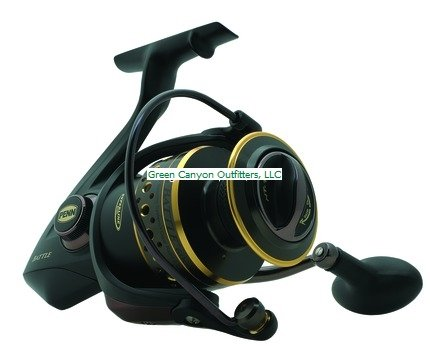 Penn  Battle 25/350 Line Capacity 6+1 Bearings 5.3:1 Spinning Reel