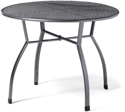 Greemotion Toulouse 416510 Table Fine Mesh 100 cm Iron Grey