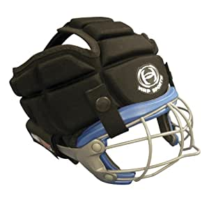 SG360 women's soft headgear for lacrosse and field hockey Black