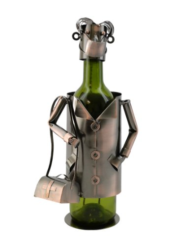 Doctor, Metal Wine Bottle Holder, Wine Bodies By Three Star