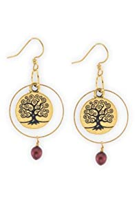 Imagine Jewelry Kallista Tree of Life Earrings