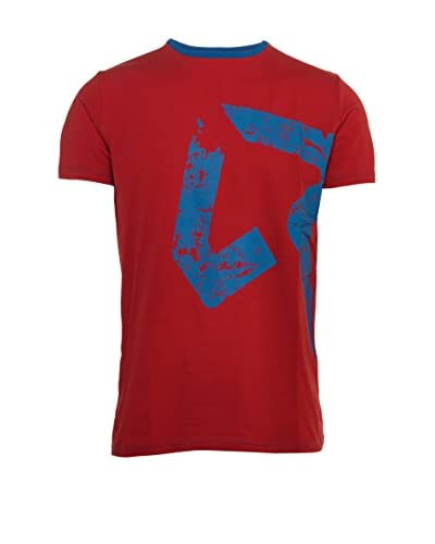 Rock Experience Camiseta Manga Corta Durot Rojo