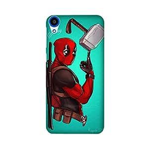 StyleO HTC Desire 820/ 820G Designer Printed Case & Covers (HTC Desire 820/ 820G Back Cover) - Superhero Deadpool