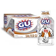 GU Sports Energy Gel - Box of 24 (Salted Caramel)