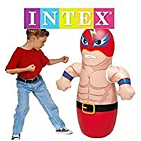 Intex 3D Bop Bag Blow Up Inflatable Wrestler