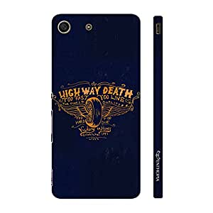 Enthopia Designer Hardshell Case HIGHWAY DEATH Back Cover for Sony Xperia M5
