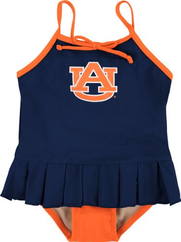 Auburn University Tigers Toddler Girls 1-Piece Swimsuit - Cheerleader in Training at Amazon.com