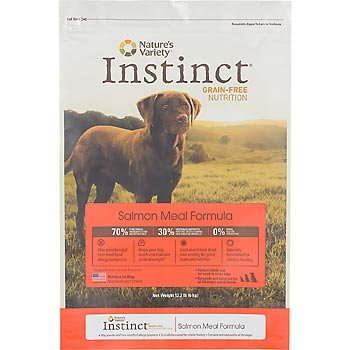 Instinct Grain-Free Salmon Meal Dry Dog Food by Nature's Variety, 25.3-Pound Package
