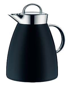 alfi isolierkanne dan thermoskanne kaffeekanne aluminium drehverschluss midnight black. Black Bedroom Furniture Sets. Home Design Ideas