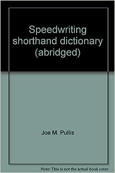 Stenospeed shorthand