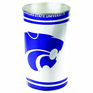 Buy NCAA Kansas State Wildcats Wastebasket by WinCraft