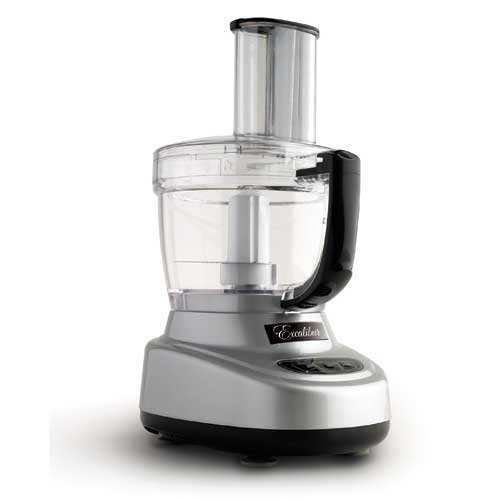 Excalibur EXCEXFP300S EXFP300S Food Pro Food Processor, 1/3 HP, 1600 RPM, Satin Finish